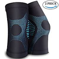 CXYSY 运动护膝支撑压力护膝,适用于*、跑步、自行车、篮球、运动、关节*、康复,1 对