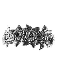 Daffodil 发夹 - 手工制作金属发夹 美国制造,带进口法国发夹 Oberon Design 制造