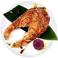 蓝雪 智利进口 ASC认证中段三文鱼扒 冷冻海鲜 口感美味500g