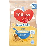 Milupa Gute Nacht Milchbrei Grießbrei, 5er Pack (5 x 400 g)