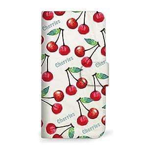 mitas iphone 手机壳412SC-0185-CH/401SH 37_シンプルスマホ2 (401SH) 樱桃红