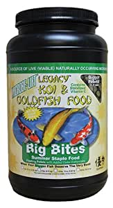 Microbe Lift 传统锦鲤和金鱼大咬鱼食品 2 lbs 12oz 棕褐色 1438-2311
