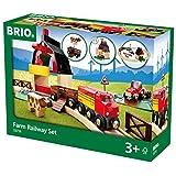 瑞典 BRIO 火车系列 农场豪华级轨道套装 BROC33719