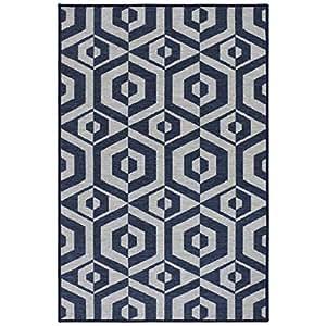 Rugsmith 复古灵感小地毯 灰色 3' x 5' 12342165