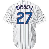 Addison Russell 芝加哥小熊队白色青年酷炫基础家居仿品球衣
