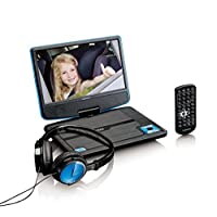 Lenco DVP-910 DVD 播放器 带 USB, 9 Zoll Dvd Player 蓝色 DVP-910BU