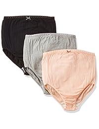 rosemadame 玫瑰太太舒适纯棉材质 , ***妈妈放心 ( 3片装 ) 孕妇内裤颜色图案随机607–0331–20