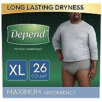 Depend 得伴 Fit-Flex 男式*人群用内裤 高度吸水 26 count XL 26