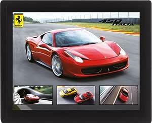Ferrari 458 Italia 10 x 8 cm 带框 3D 透镜海报