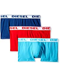 Diesel Men's Shawn Three-Pack Boxer Trunks