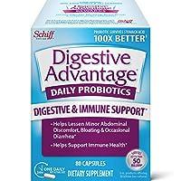 Schiff Digestive Advantage 日常益生菌 80粒