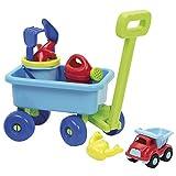 Ecoiffier 527 玩具 -满载的小拖车