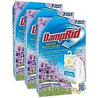 DampRid FG83K 懸掛吸水器清新香味(3盒,共9袋) 1 Box