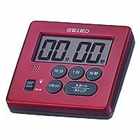 SEIKO CLOCK(セイコークロック) タイマー (赤メタリック塗装) MT717R