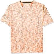 John Varvatos Star USA 男式 Pierson 短袖易穿粗紡棉圓領 T 恤