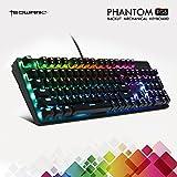 tecware Phantom 背光机械键盘–87键 Blue Switch, RGB LED, 104 Keys