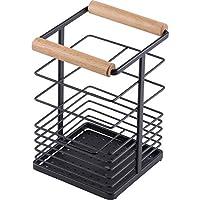 和平 Freiz 厨房工具支架 黑色 约11.5×10.5×16.5cm 蓝色拼接 RG-0356