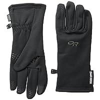 Outdoor Research 防风系列 男士 Backstop Sensor Gloves捕手传感防风抓绒手套 70226-001