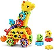 VTech 伟易达 GearZooz 旋转&笑 长颈鹿齿轮玩具,适合儿童,幼儿,男孩和女孩玩的送礼佳品,适合年龄2、3、4岁