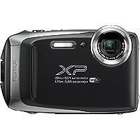 Fujifilm FinePix XP130 防水数码相机,带 16GB SD 卡600019824 底部 2.78x 4.34x 1.26 银色