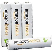 AmazonBasics 亚马逊倍思 4节七号镍氢预充电可充电电池,可循环使用 1000次(进口直采;日本制;标准值:800 mAh,最小值:750 mAh)