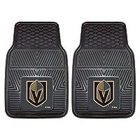 NHL Vegas Golden Knights 中性款 22901 重型乙烯基汽车垫,黑色,18x27