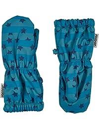 Racoon 男婴 Vester rain Fäustlinge (Wassersäule 5000) 连指手套,布鲁色(Insignia Blue Ins),S 码