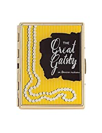 Kate Spade New York A Way With Words Great Gatsby I.D. 和信用卡夹,镀金金属