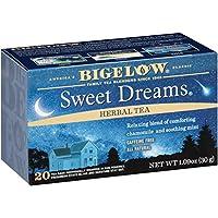 Bigelow Red Raspberry 草本茶,20 个盒子,1.18 盎司(6 包)