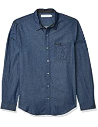 Calvin Klein Jeans 男式网状提花卡车裤