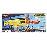 Nerf Fortnite AR-L 机动玩具玩具枪,20 支官方 Fortnite Elite 飞镖,翻转瞄准器,适合青少年,成人