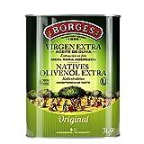 BORGES伯爵特级初榨橄榄油3L(西班牙进口)(3L和1*3L随机发货)