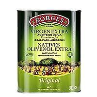 Borges 伯爵 特级初榨橄榄油3L(西班牙进口)(3L或1L*3随机发货)