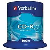 verbatim 43411可 CD-R 100SPINDLE