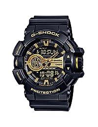 CASIO 卡西欧 日本品牌 G-SHOCK系列 石英男士手表 GA-400GB-1A9