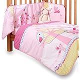 Clair de Lune Lottie & Squeek Cot/ Cot Bed Quilt and Bumper Set (2 Pieces)