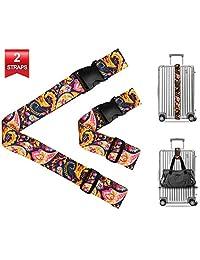 行李带和添加包带,重型符合 TSA 的 4 件套