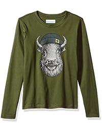 Columbia 男孩冬季 Buddy 长袖 T 恤