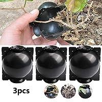 3件套植物根生长设备辅助切割根,无性再现,植物根部装置,高压箱嫁接植物根控制器,植物繁殖空气层囊 L 黑色 WLF213BL
