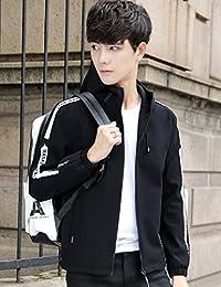 Goralon 春季连帽夹克男士夹克衫 韩版潮流上衣服运动外套男春款男外套外衣夹克外套