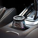 榕力 汽车用品 除异味车用沸石汽车香水座 汽车摆件内饰用品 (玫瑰)