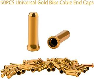 Tim&Lin 自行车电缆端盖 - 通用标准自行车电缆端盖 - 基本自行车电缆端盖更换 - 自行车变速器外壳 - 非常适合自行车公路自行车普通自行车