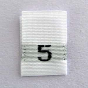 5 号服装标签(500 件装)