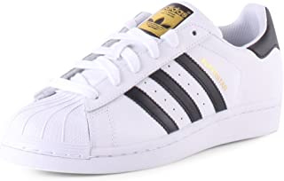 adidas Originals kids 阿迪达斯三叶草 ORIGINALS KIDS 男童 休闲运动鞋 SUPERSTAR J C77154 白/一号黑/白 内长:235mm (UK 5)