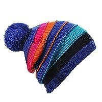 Citoor 希途 户外帽子滑雪帽 内里加绒 拼色通用 冬季保暖 双层针织风雪帽 登山防风帽 C2P-WM