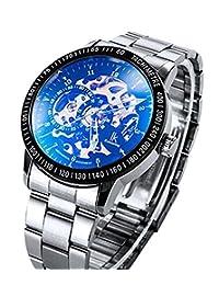 多色奢华 IK 98226不锈钢自动骨架机械手表镂空男式 WATCHES pbao 婴儿背带 (style15)