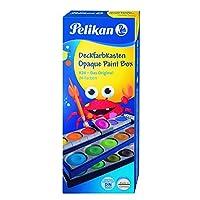 Pelikan 不透明水彩画套装,24 色加中国白管 (720862)