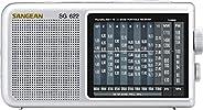 SANGEAN 山进 SG-622 AM / FM / SW 1-10紧凑型全波段收音机