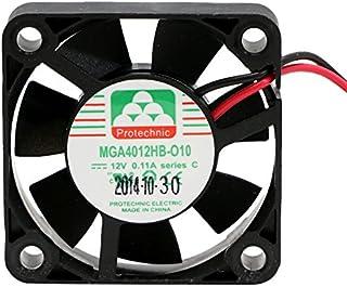Protechnic Fan 12 V 40 x 40 x 10mm Cooling MGA4012HB-010 C