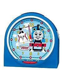Seiko 精工 座钟 蓝色 尺寸:12.9×13.6×8.4cm 托马斯和他的朋友智能 模拟时钟 转换类型 CQ158L